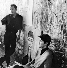 Bernard Buffet rencontre Annabel Schwob en 1958 grâce à son ami photographe Luc Fournol