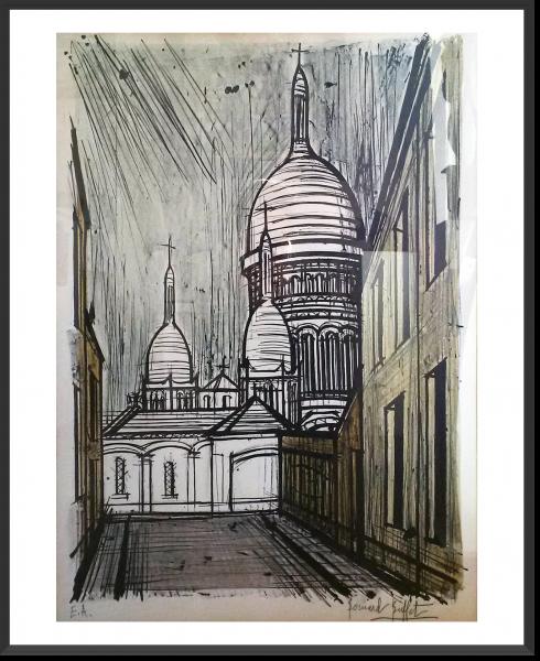 BUFFET Bernard Le Sacré-Coeur – Montmartre 75,5 x 58 cm