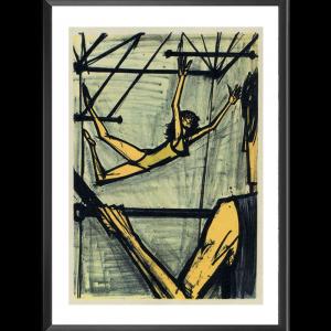 Les Trapezistes par Bernard Buffet