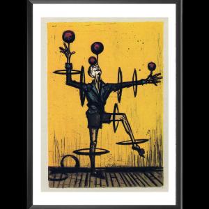 Le jongleur par Bernard Buffet