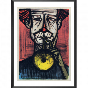 Lithographie La trompette