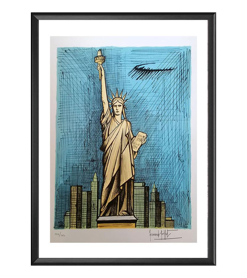 Bernard Buffet - La statue de la Liberté - 1986