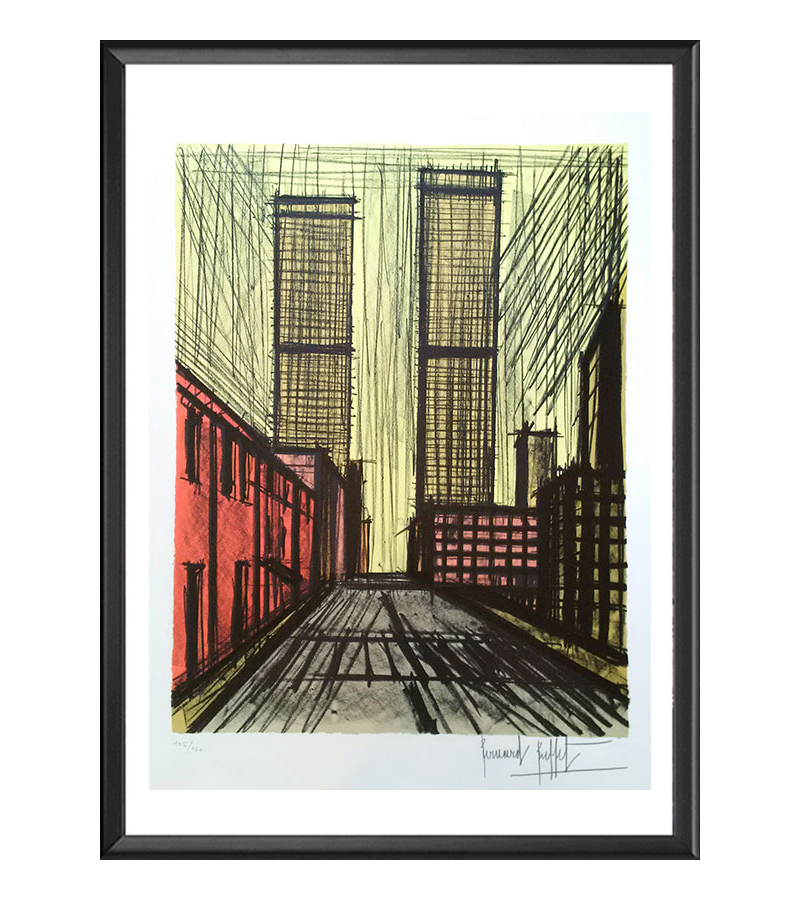 Bernard Buffet, New-York, Twin Towers