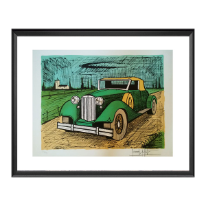 Bernard Buffet et l'automobile