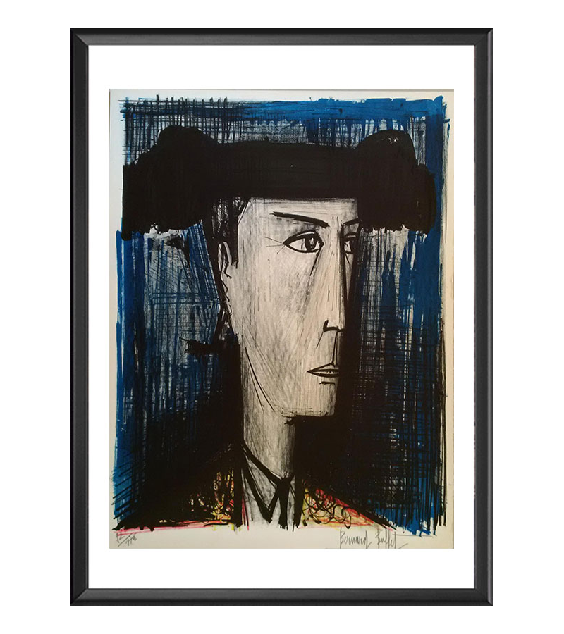 Reproduction Bernard Buffet, Le toréador