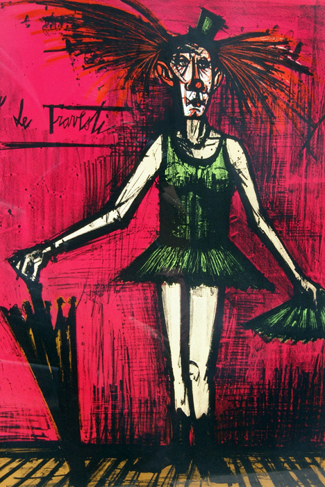 Le Travesti, par B. Buffet