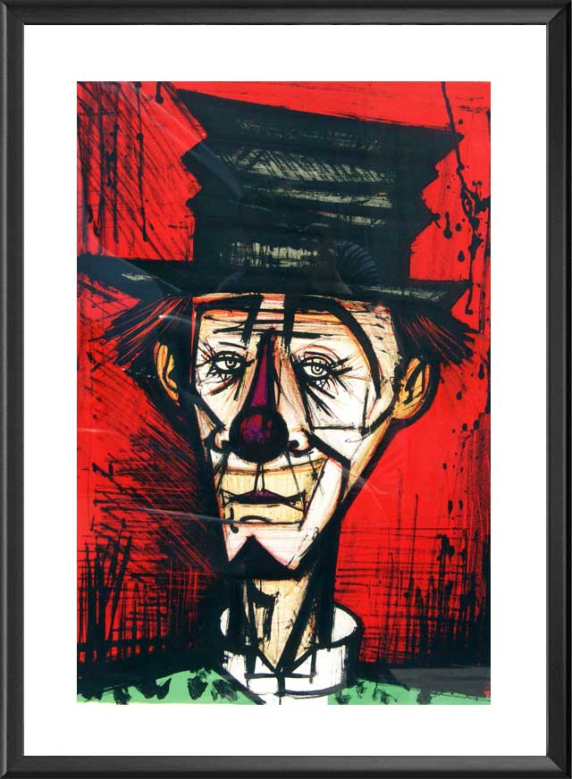 Le clown de Bernard Buffet