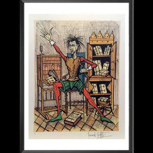Don Quichotte dans sa bibliothèque