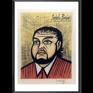 Bernard Buffet. Sancho Pança, Lithographie