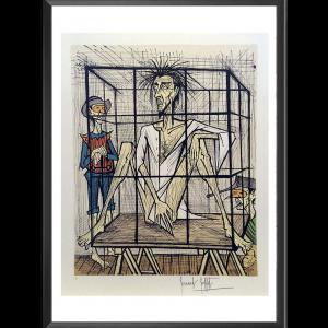 Bernard Buffet - Don Quichotte en cage