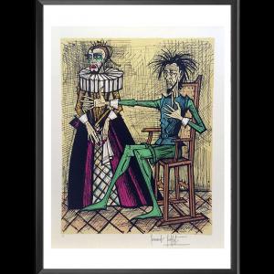 Don Quichotte et la duègne barbue