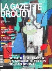 Gazette Drouot 8-16 avril 2017 Couverture