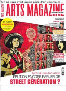Arts Magazine Juin 2017 couv