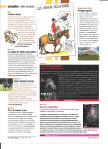 Cheval Magazine oct 2017 article
