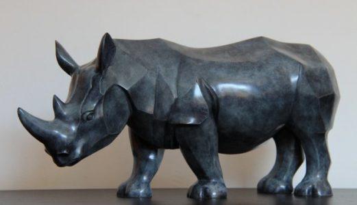 a-la-une-Rhinocaros-bronze