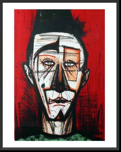 BUFFET Bernard Riri 72 x 51 cm