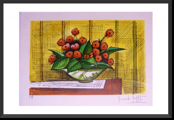 BUFFET Bernard lithographie 31 x 49 cm