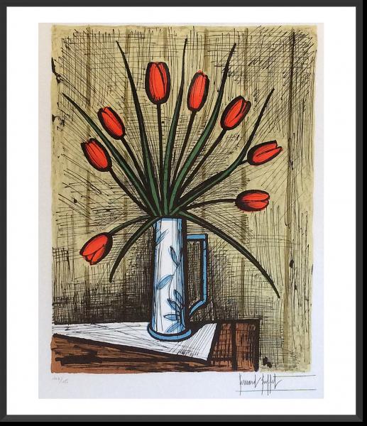 Buffet_Bouquet de tulipes_1985