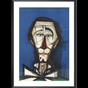 Lithographie Clown l'Auguste