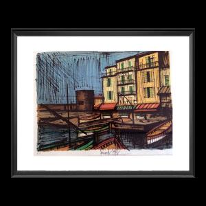 Bermard Buffet - Port de la Rochelle, 1950