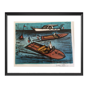 Chris-Craft et Riva. Bernard Buffet