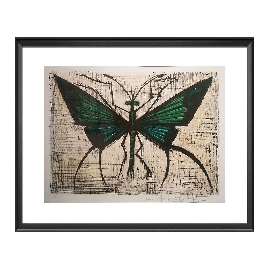 Bernard Buffet : Le papillon vert