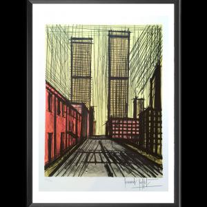 Bernard Buffet, New-York, Twin Towers